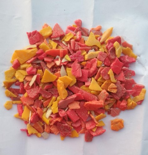 HDPE Multicolor Red Crate Scrap Grinding for Plastic Industry