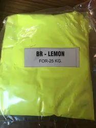 Lemon Colour Plastic Pigment
