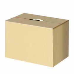 Handled Plain Corrugated Box
