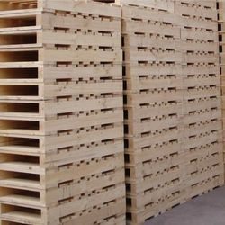 Rectangle Shape Compressed Wooden Pallets