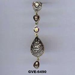 Hyderabadi Diamond Polki Earring