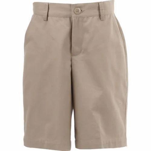 c2bd62182 Cotton School Uniform Half Pant, Rs 120 /piece, Bharat Garments   ID ...