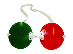 ASF Diplopia Goggle Red Green