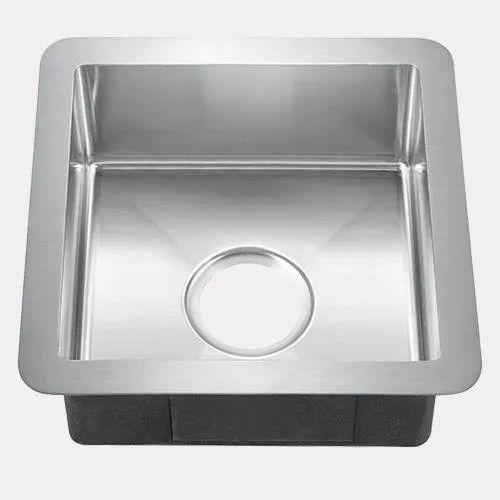 Silver Srihari Stainless Steel Sink