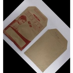 Brown Paper Printed Photo Envelopes, Rectangular, Size: 6x4 Inches