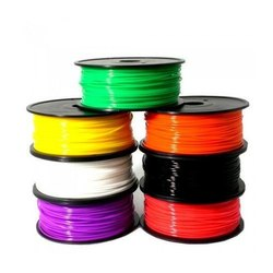 Multicolor ABS Filament- White, Black, Red, Blue, Yellow, Green, Size: 1KG