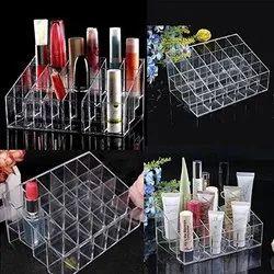 Light Weight 7.5 Cm 24 Grid Lipstick Acrylic Cosmetic Storage Box ( 4 x 6 ), Rectangle