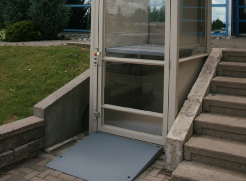 Handicapped Lifts, Vertical Platform Lift, home wheelchair lift ...