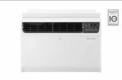 White LG Inverter Window Air Conditioner JW-Q18WUZA