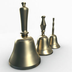 Various Design Brass Hand Bells