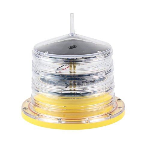 Low Intensity Aviation Warning Light - Solar Powered / Obstacle Light For Towers