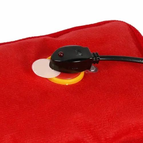 Electric Hot Water Bags Electric Heating Gel Pad-Heat Pouch Hot Water Bottle Hand Warmer With Pocket