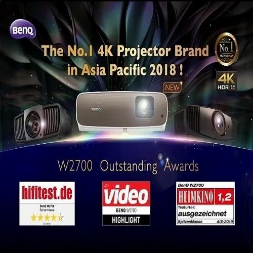 Benq 4k Home Theatre Projector W2700