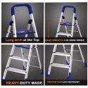 Parasnath Home Pro Folding 5 Steps Aluminum Ladder