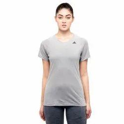 Polyester Half Sleeve Adidas 2.0 Prime Training Women T-Shirt, Size: XS,L