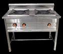 2 Burner Indian Cooking Range