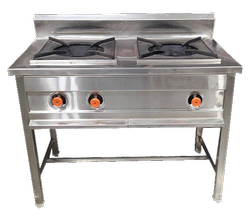 2 Burner Indian Cooking Range