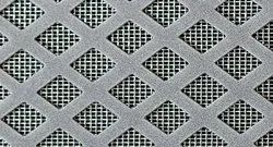 Stainless Steel Diamond Shaped Perforated Sheet