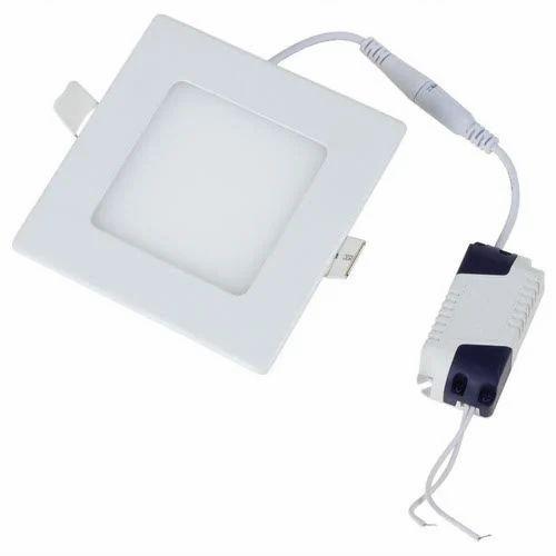 Cool White 10 W 10W Square LED Panel Light