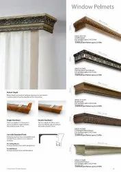 Palment curtain rod