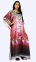 Satin Silk Casual Party Wear Girls Kaftans Kurta 2018