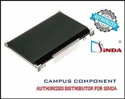128x64 COG ( Glass) LCD Display