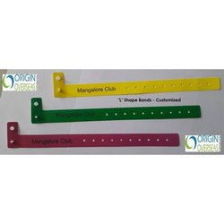 Origin Plastic L Shape Non Tearable Party Band, Packaging Type: Box, Size: 10