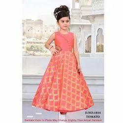 Kids Printed Gown