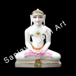 Marble Mahavir Statue