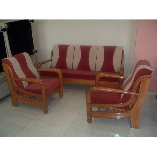 Home Wooden Sofa Set At Rs 12000 Piece Wooden Sofa Set Id