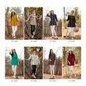 Lymi Kessi Fabric Motion Ladies Top