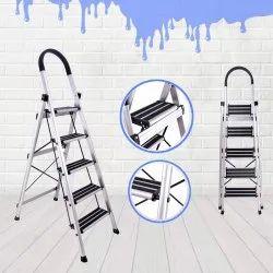 Super Aluminium Ladder Aluminum Anodize Premium 5 Step Ladder Squirreltailoven Fun Painted Chair Ideas Images Squirreltailovenorg