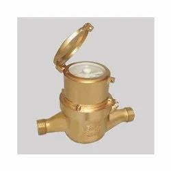 Optima Brass Water Meter