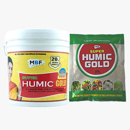 Super Humic Gold 20 % Soil Conditioner, Packaging Size: 10 Kg, for Agriculture