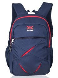 Navy Blue Lister Laptop Backpack Bag
