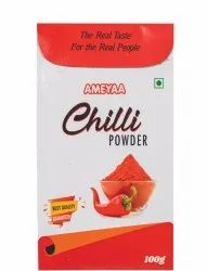 100g RED CHILLI POWDER, Packets