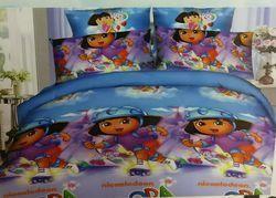 Glace Cotton Kids Double Bedsheets