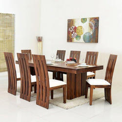 Brown Trust Kart Modern Dining Table Set