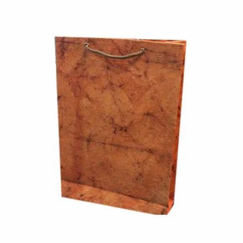 Handmade Craft Paper Carry Bag, Capacity: 500gm