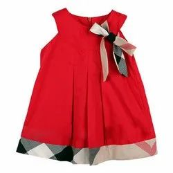 Natural Recycle Organic Cotton Kids Solid Frocks