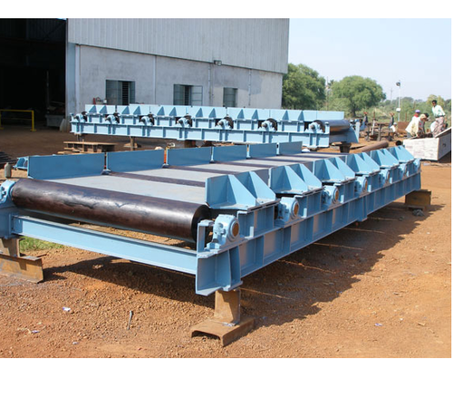 Silver Stainless Steel Rolling Mill Conveyor