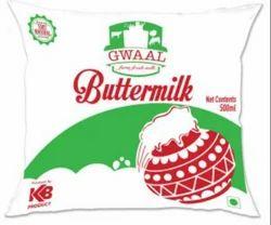Gwaal White Buttermilk, Packaging Size: 500 ml