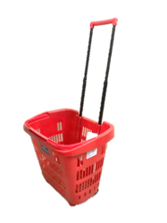 Shopping Plastic Trolley