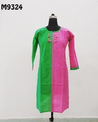 Printed South Cotton Kurti