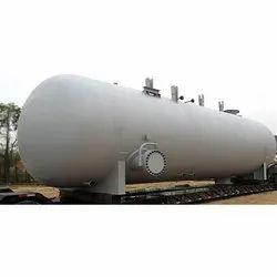 Mild Steel MS Pressure Vessel