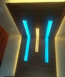 Multicolor PVC Paneling Ceiling Design, Thickness: 5 mm To 10 mm