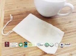 Fair Trade Organic Cotton Tea Bag