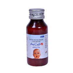 Paracetamol Phenylephrine Hydrochloride Cetirizine Dry Syrup