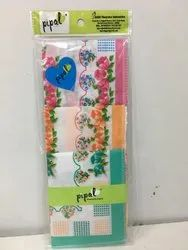 Multicolor Ladies Printed Handkerchief, Hand & Machine Wash, Size: 28 Cm X 28 Cm