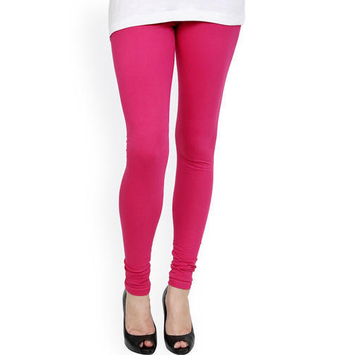 Dark Pink Ladies Churidar Legging